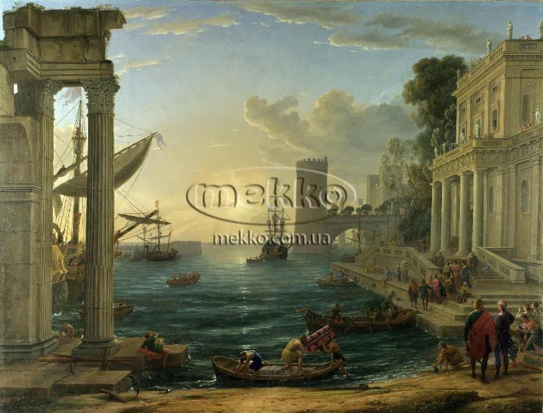 Картина Морський порт, Клод Верне  Луцьк