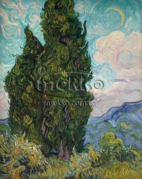 Картина Кипариси, Вінcент ван Гог  Луцьк