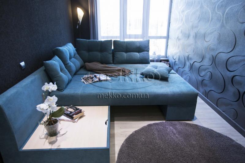 Кутовий диван з поворотним механізмом (Mercury) Меркурій ф-ка Мекко (Ортопедичний) - 3000*2150мм  Луцьк-4