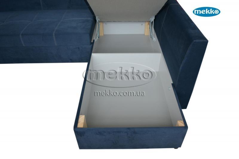 Кутовий диван з поворотним механізмом (Mercury) Меркурій ф-ка Мекко (Ортопедичний) - 3000*2150мм  Луцьк-20