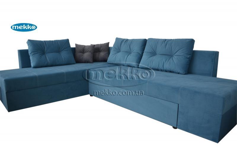 Кутовий диван з поворотним механізмом (Mercury) Меркурій ф-ка Мекко (Ортопедичний) - 3000*2150мм  Луцьк-11