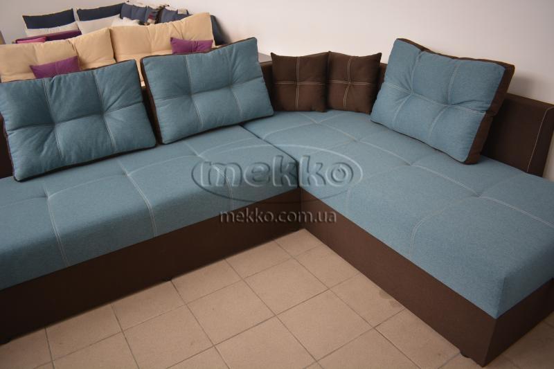Кутовий диван з поворотним механізмом (Mercury) Меркурій ф-ка Мекко (Ортопедичний) - 3000*2150мм  Луцьк-8