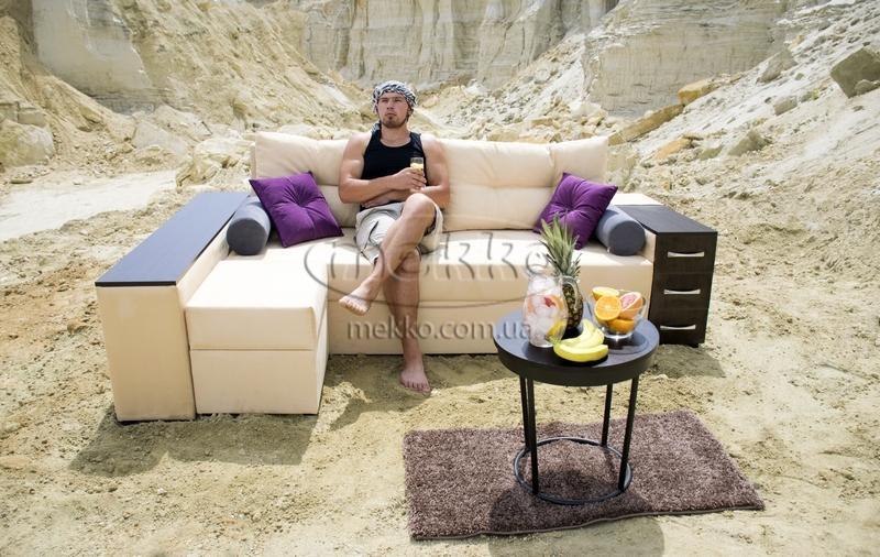 Ортопедичний кутовий диван Cube Shuttle NOVO (Куб Шатл Ново) ф-ка Мекко (2,65*1,65м)  Луцьк-6